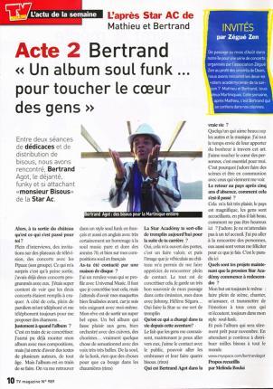 TV Magazine (août 2008)