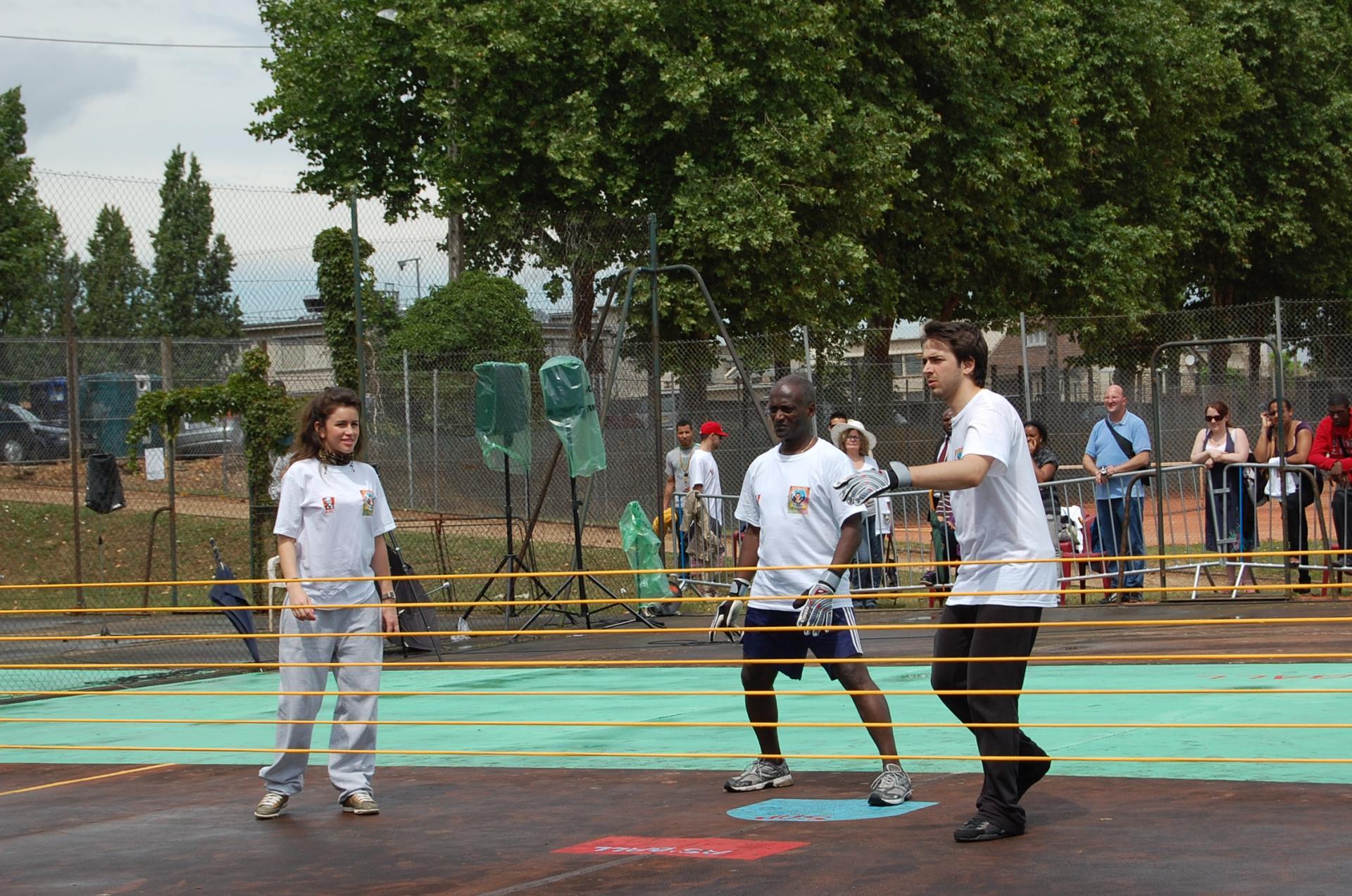 Evenement sportif caritatif (le As'Ball Melun 2010)