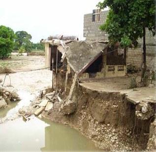 Sinistrés des cyclones Fay, Gustav, Hanna et Ike en Haiti - (2008)