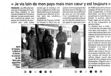 France-Antilles (août 2007)