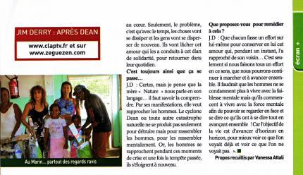 TV Mag2 Martinique (août 2007)