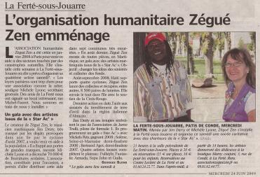 Le Parisien (juin 2009)