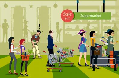 Au super market