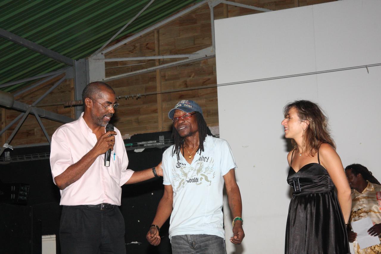 l) AZZ-FF-2008 Remerciement du maire du François, Maurice Antiste