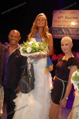 Diese et francky vincent - 41ème édition élection Miss Côte d'Opale