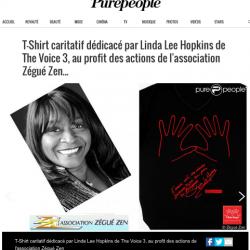"""""""L'amour crée des miracles. Soutenons Zégué Zen pour les Philippines"""" Linda Lee Hopkins"""